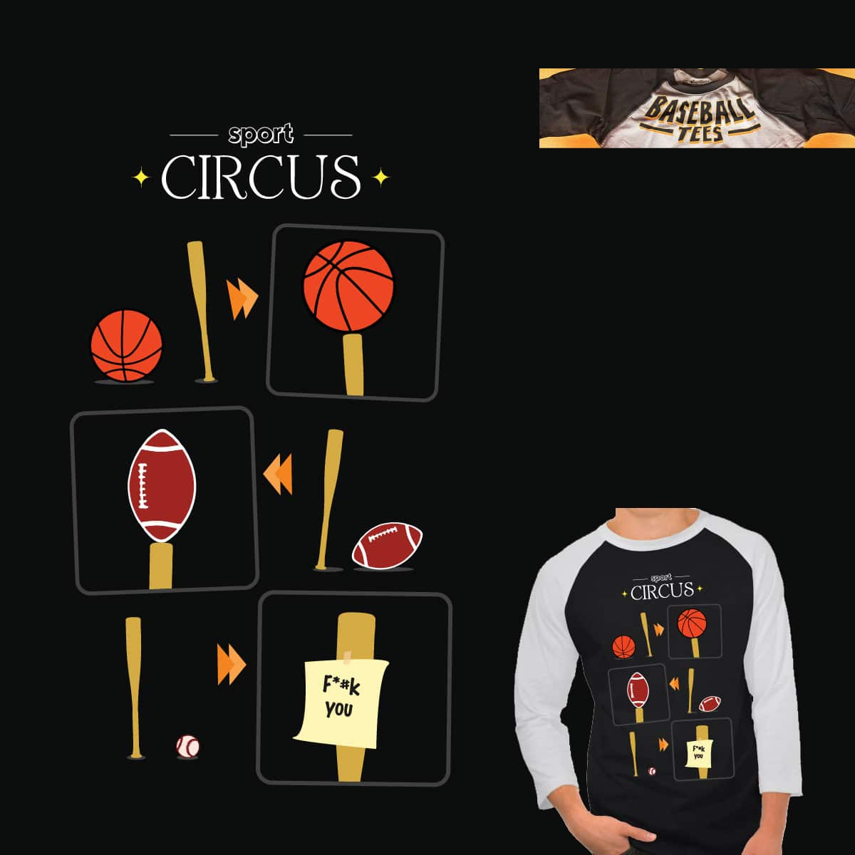 Sport Circus by johnstfernandezbe on Threadless