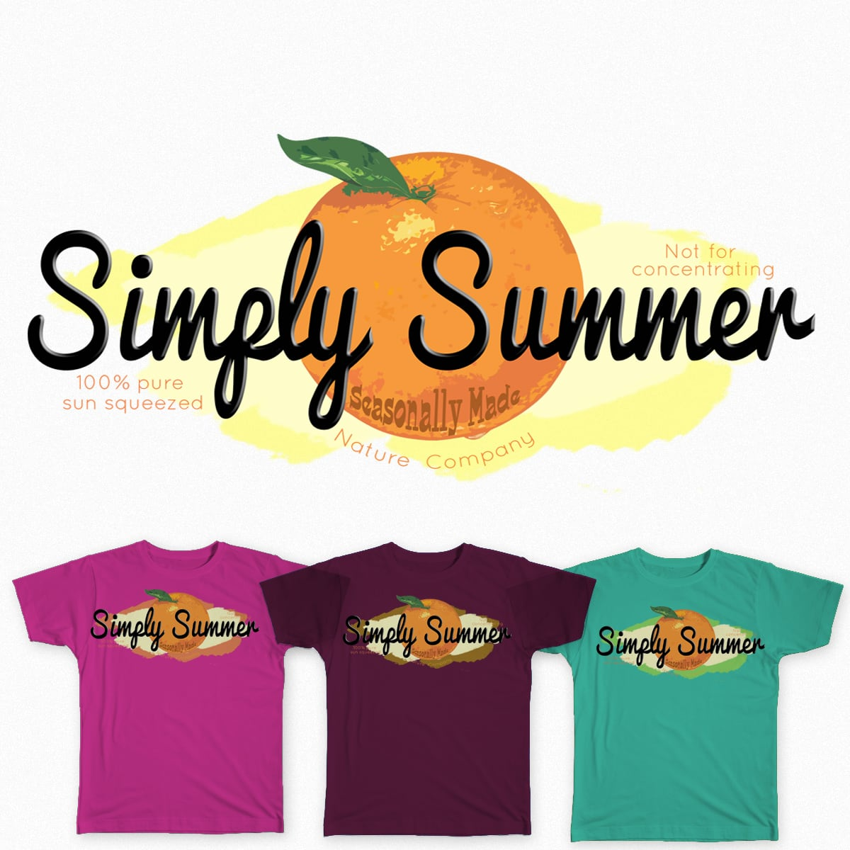 Simply Summer by caitlin.loe on Threadless