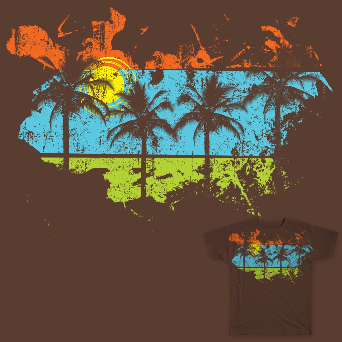 SUMMER_MON by art_hed on Threadless