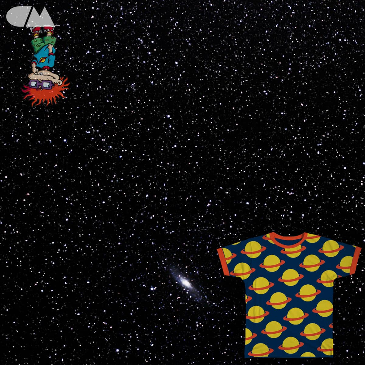 Rugrats in Space by angchor on Threadless