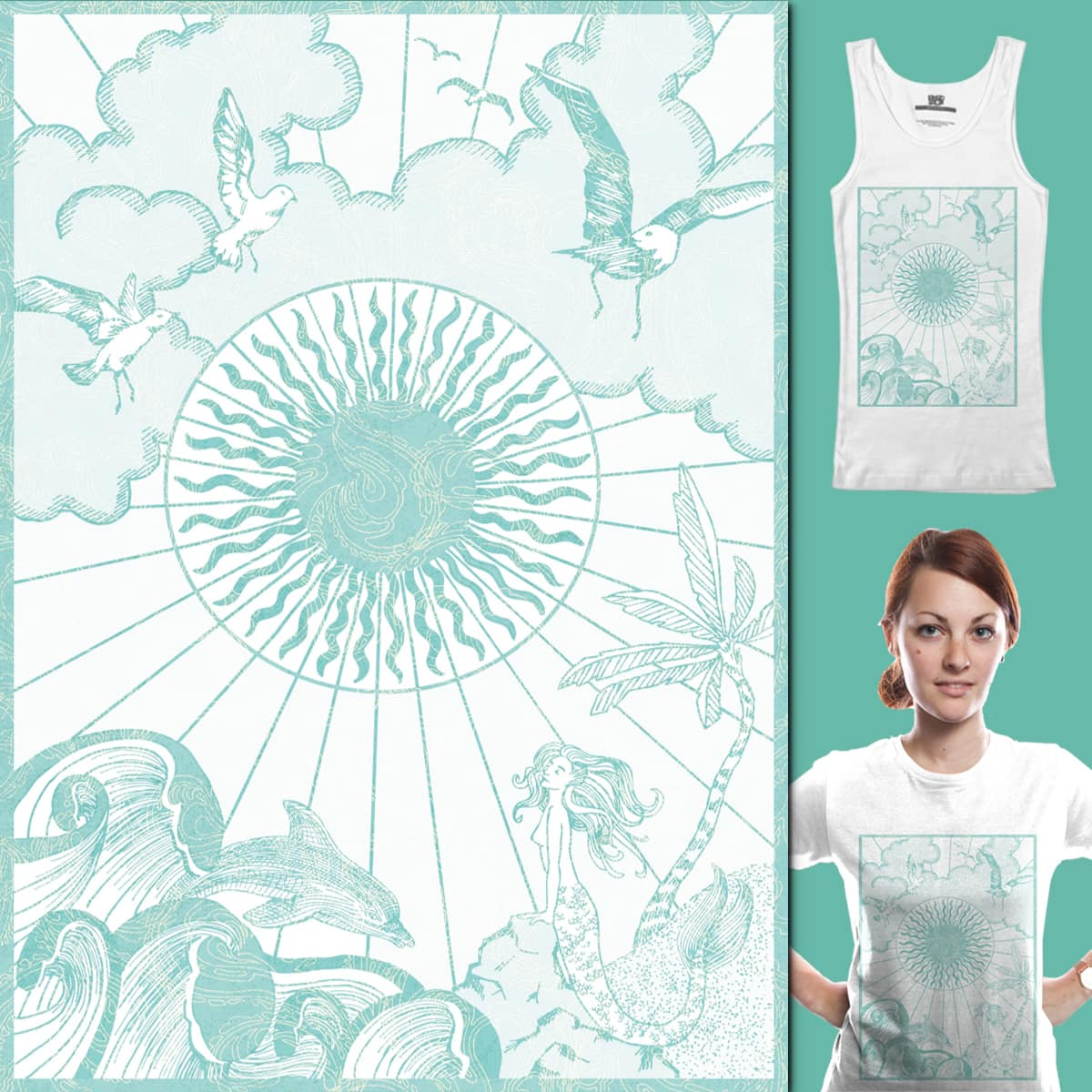 Summer Sun by Mollybu on Threadless