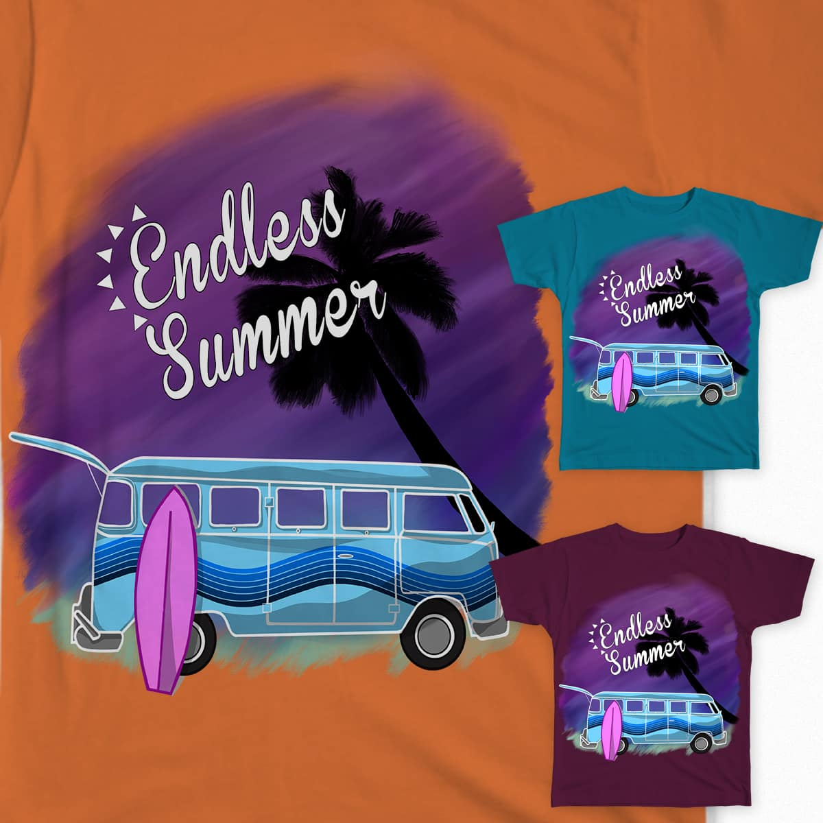 Endless summer by Natalie_Parker on Threadless