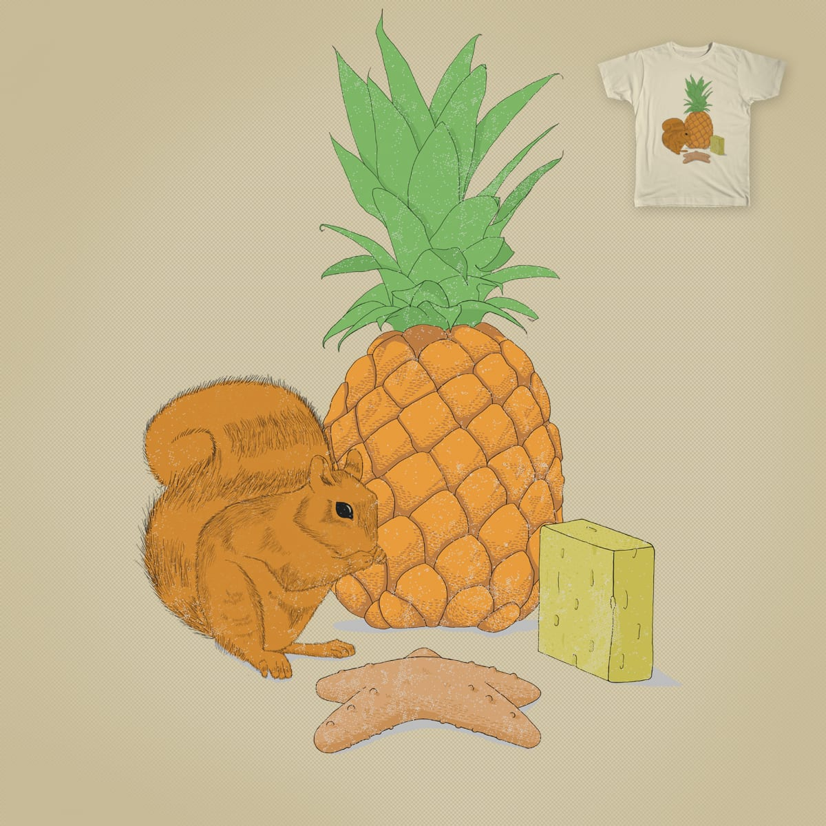 who lives in a pineapple under the sea. by BouquinisteRip on Threadless
