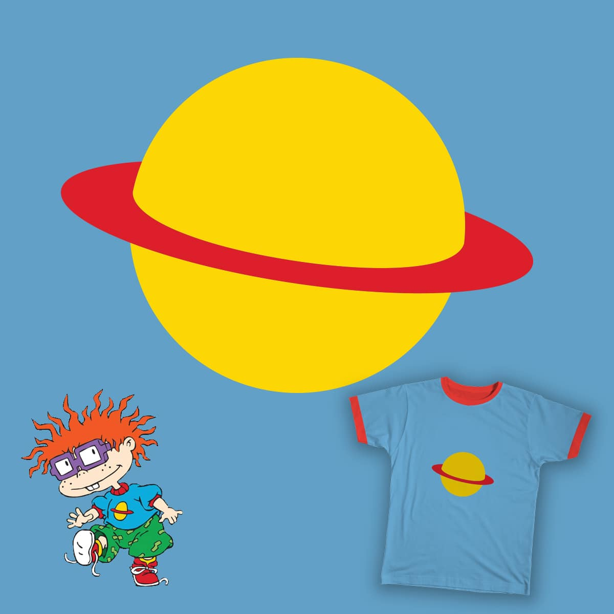Be more like Chuckie Finster! by fattybloor on Threadless