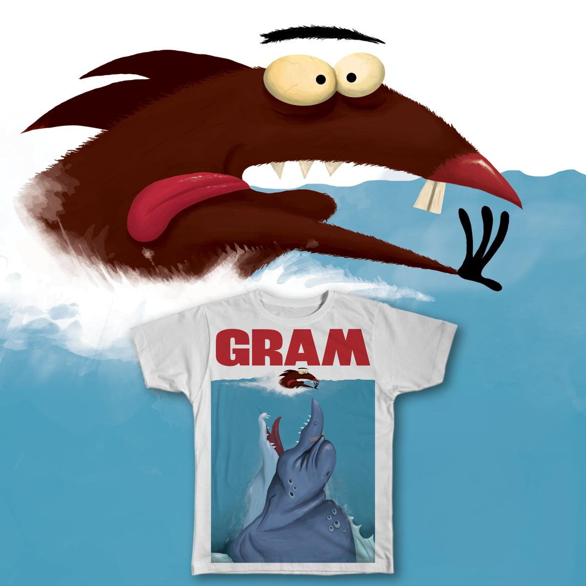 Ol' Gram! by KazerRenato on Threadless