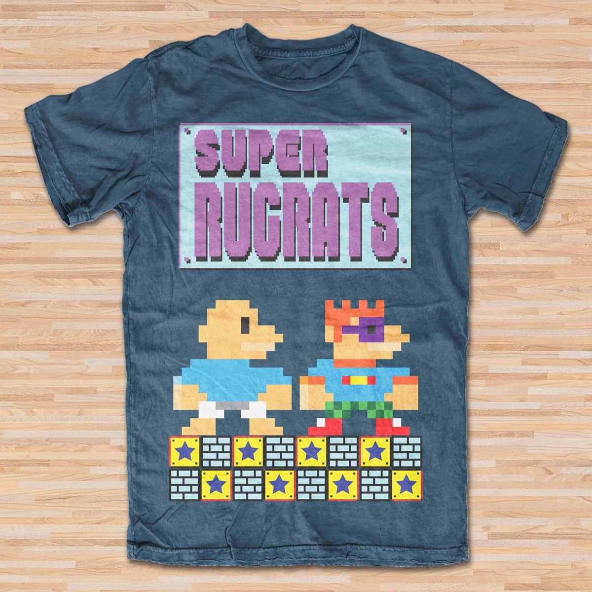 Super Rugrats by mikmik2k4 on Threadless