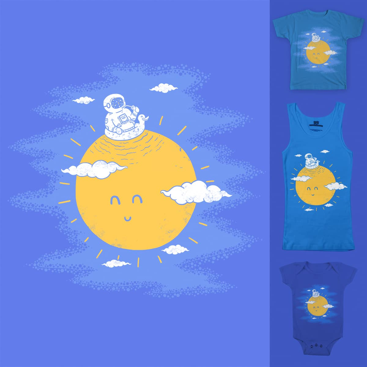 summer in the sun by iedamush on Threadless