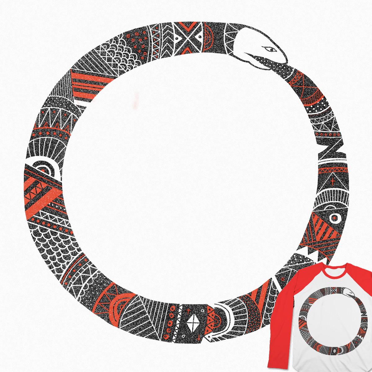 Ouroboros sleeve by Farnell on Threadless