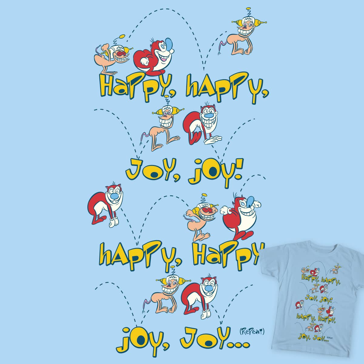 Happy Sing Along by cpdesign on Threadless