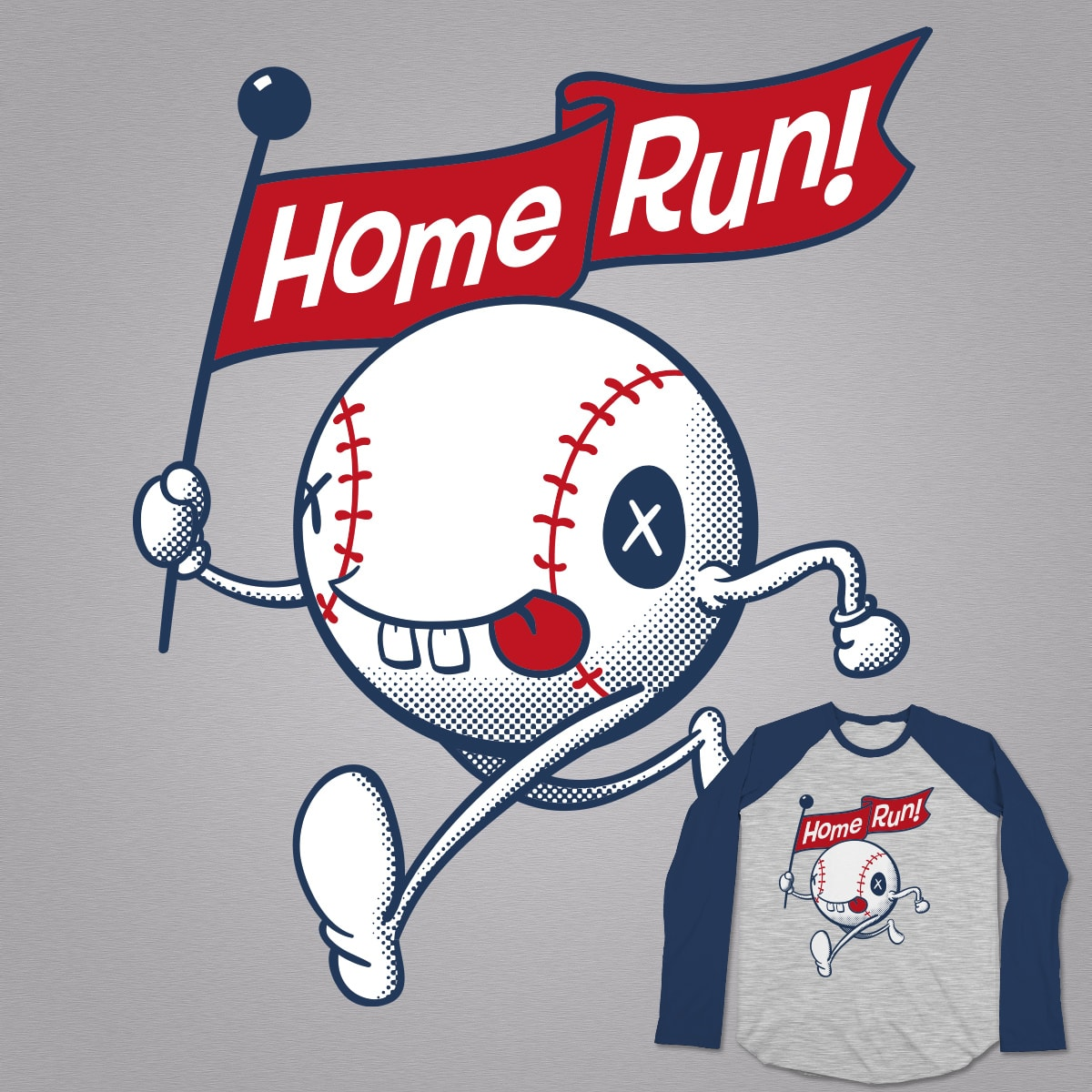 Home Run! by Dan Harman on Threadless