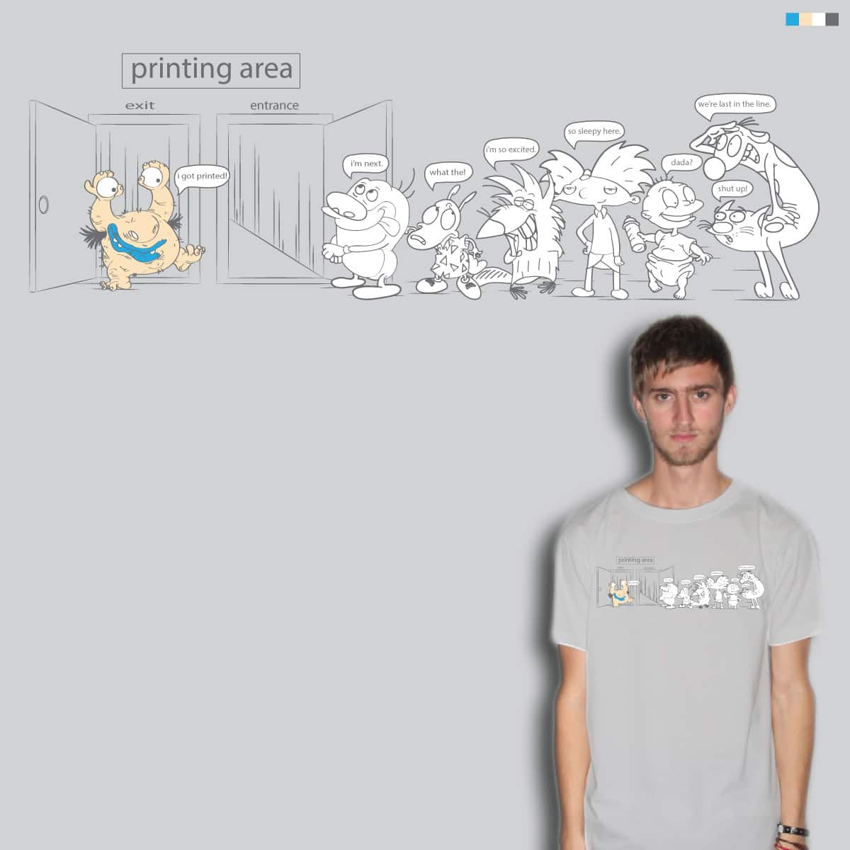 who's next on the print list? by je14 on Threadless