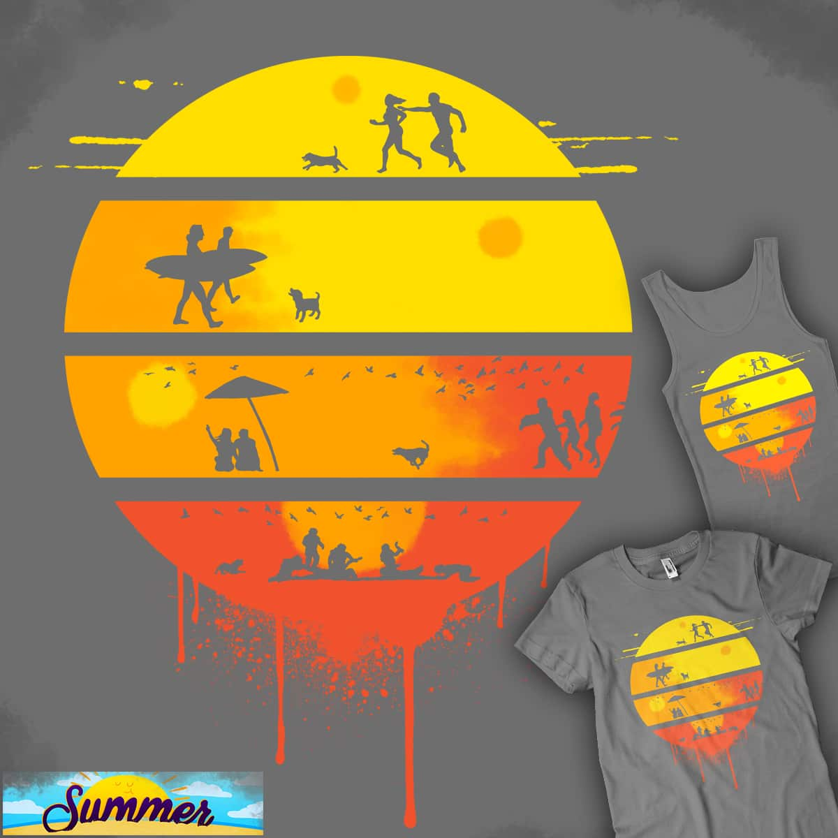 Summer Romance... No More! by kaizenkris on Threadless