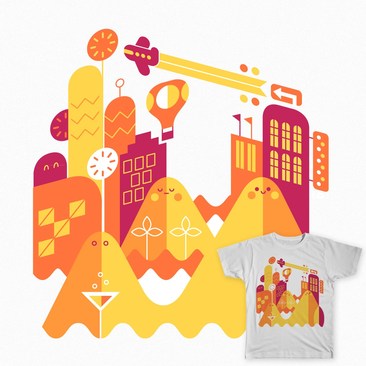 Sense of summer by momoandsprits on Threadless