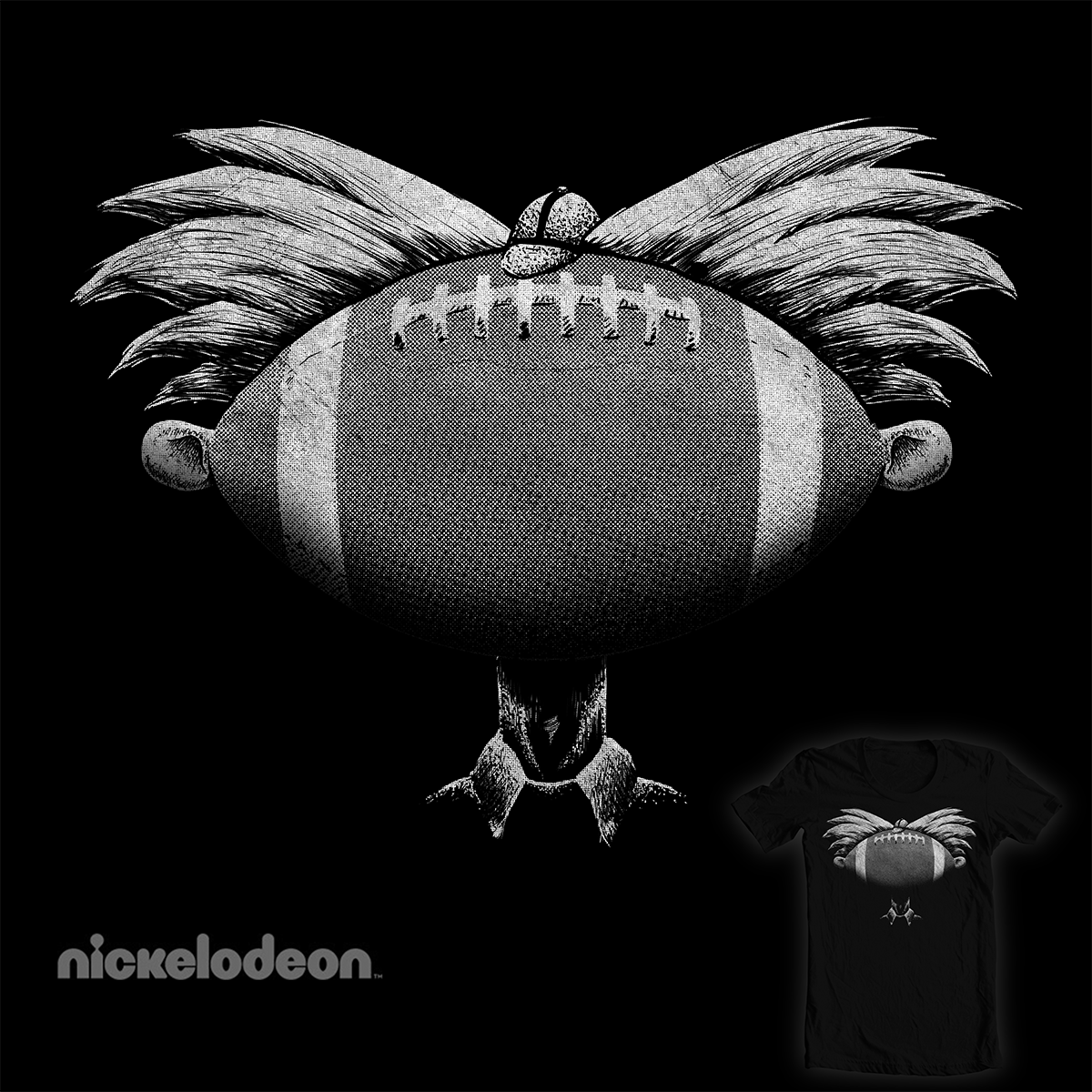 You Football head!!! by lugepuar on Threadless