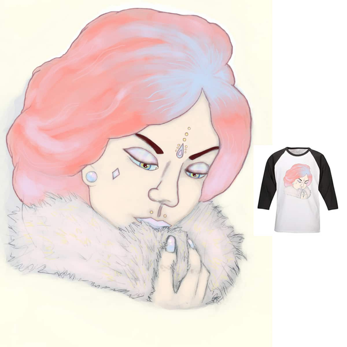 Glam  by _Geegles_ on Threadless