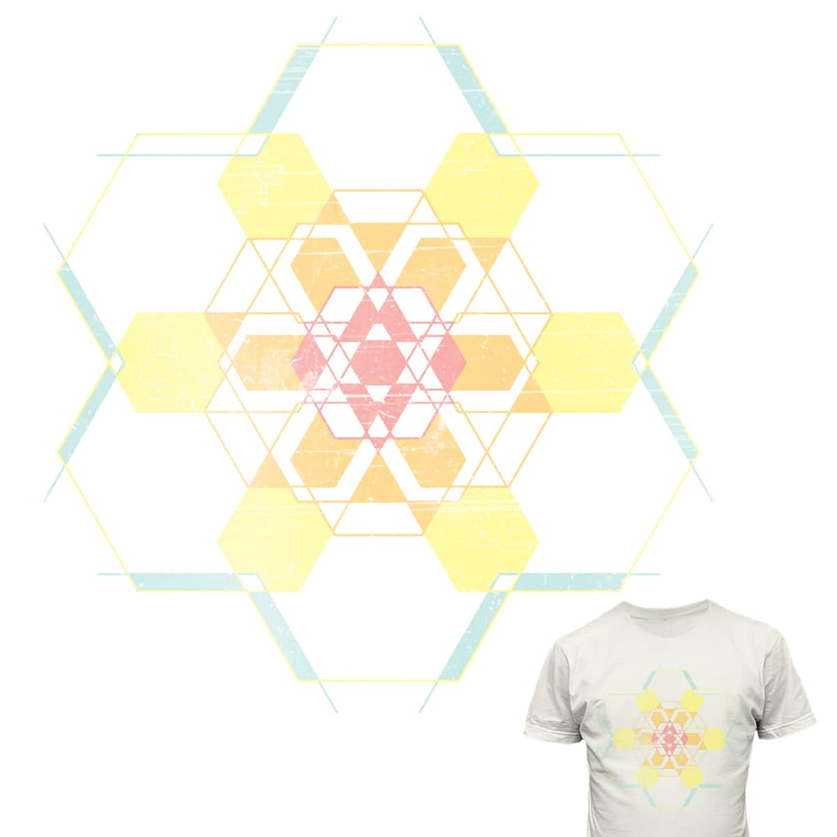 Summer Snowflake by Fungusamungus on Threadless
