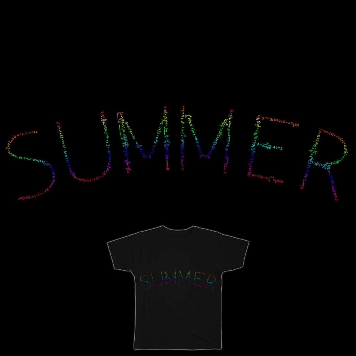 SUMmer by theoddsock on Threadless