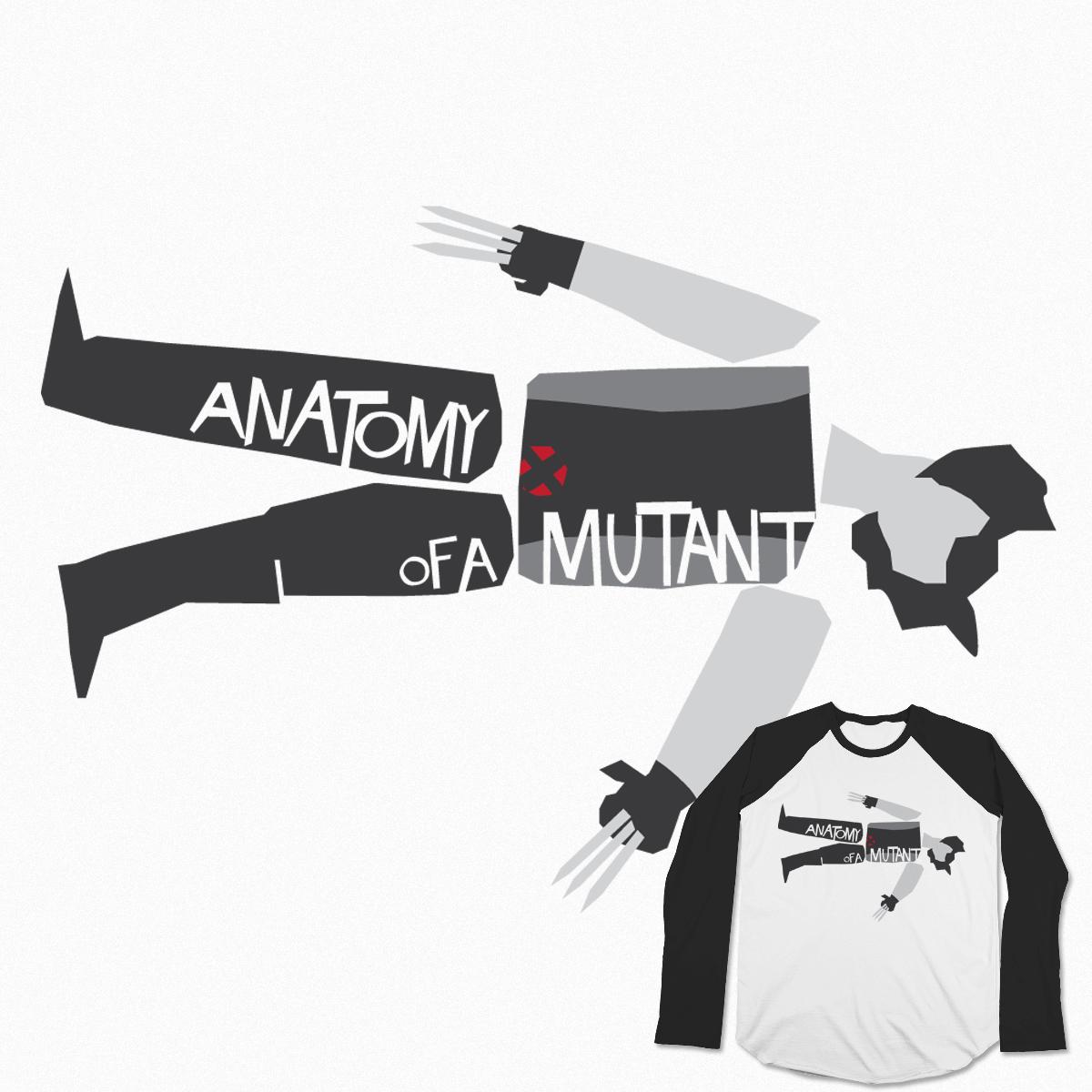 Anatomy Of A Mutant by ZombieMedia on Threadless