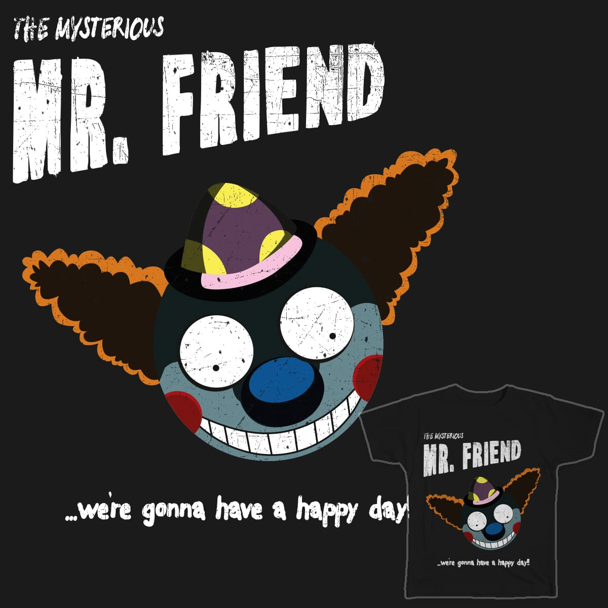 The Mysterious Mr. F(r)eind by Flower Bean on Threadless