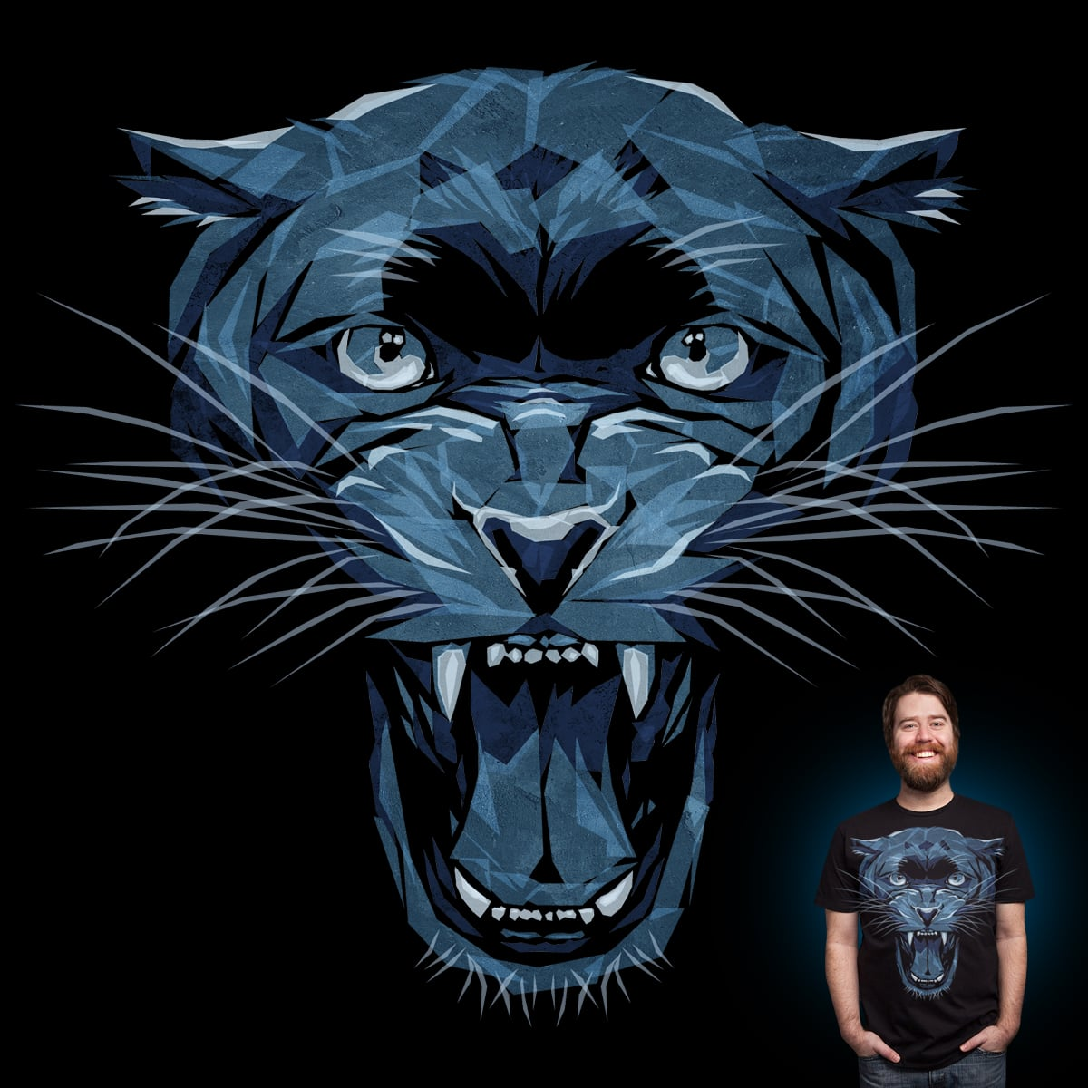 Panther by Joe Conde on Threadless