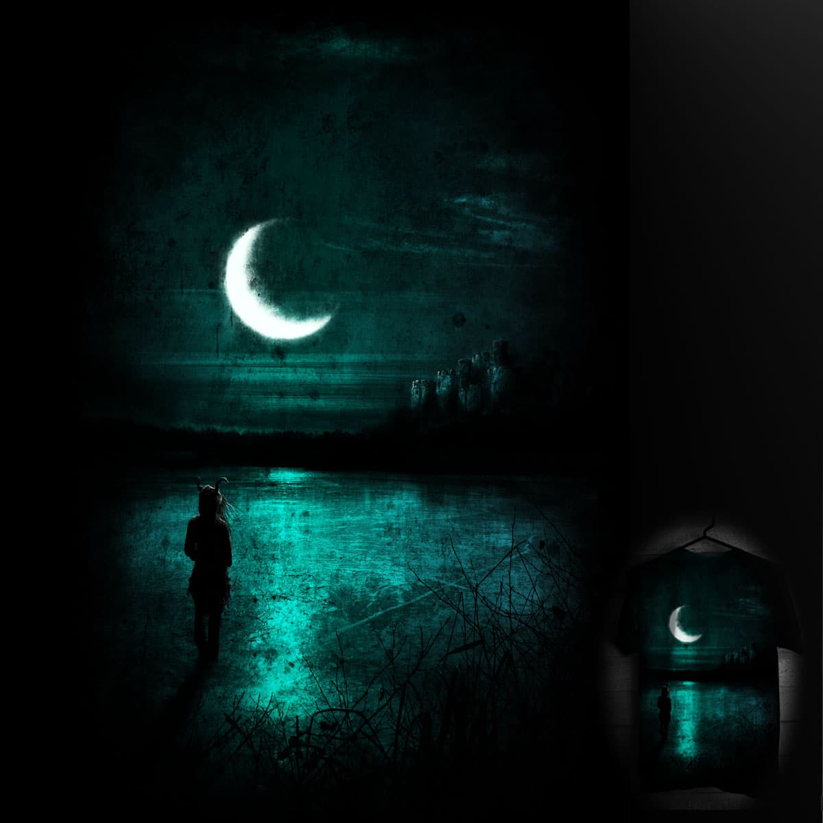 Silent under the moonlight by Jakewashere on Threadless