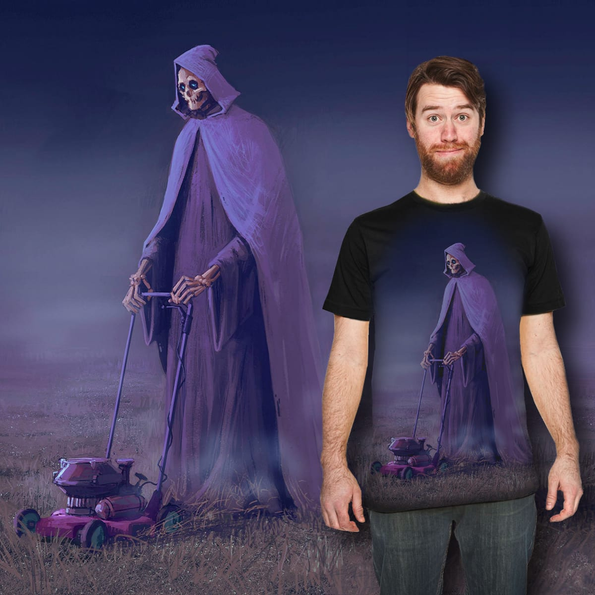 The Grim Reaper  by Bedyk on Threadless