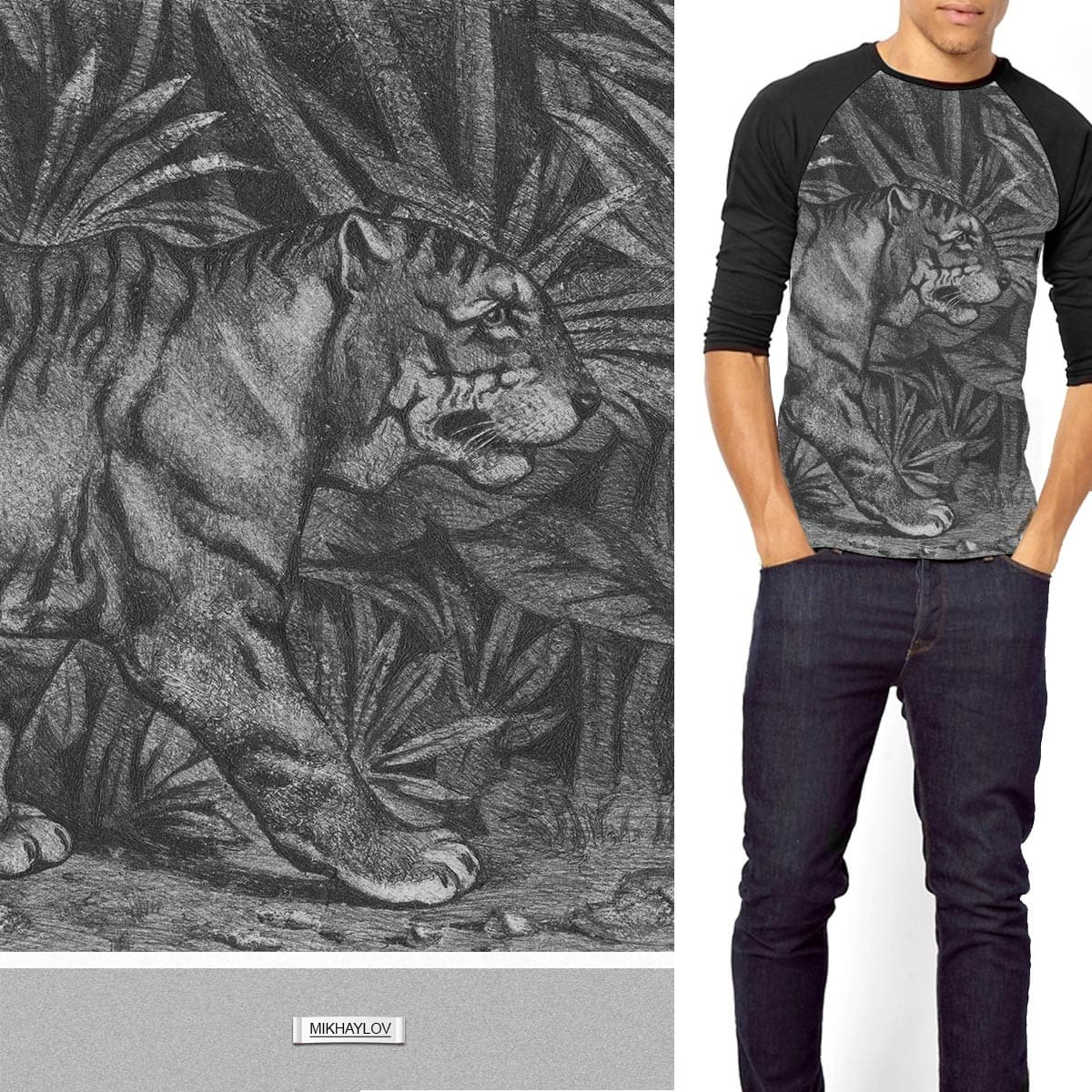 the wild beauties by MIKHAYLOV on Threadless