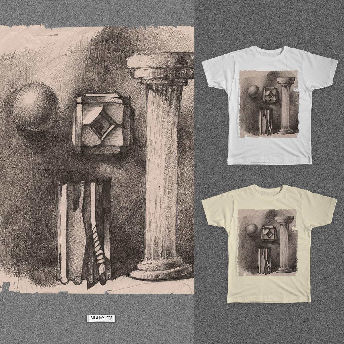 syurializm by MIKHAYLOV on Threadless