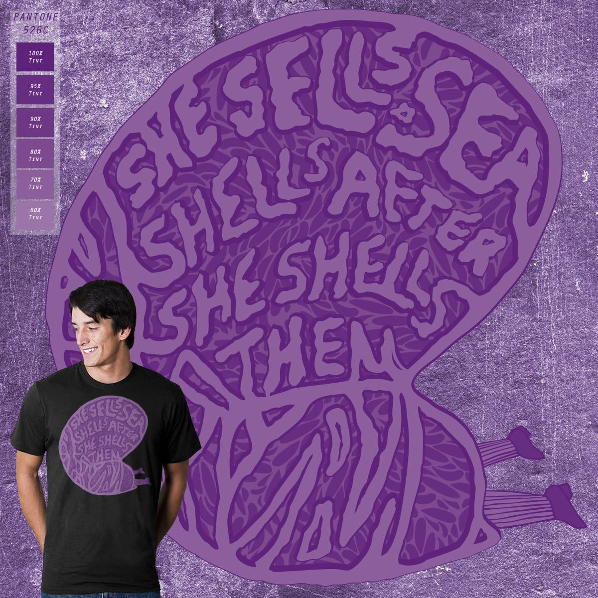 She Sells Sea Shells by Whipbot on Threadless