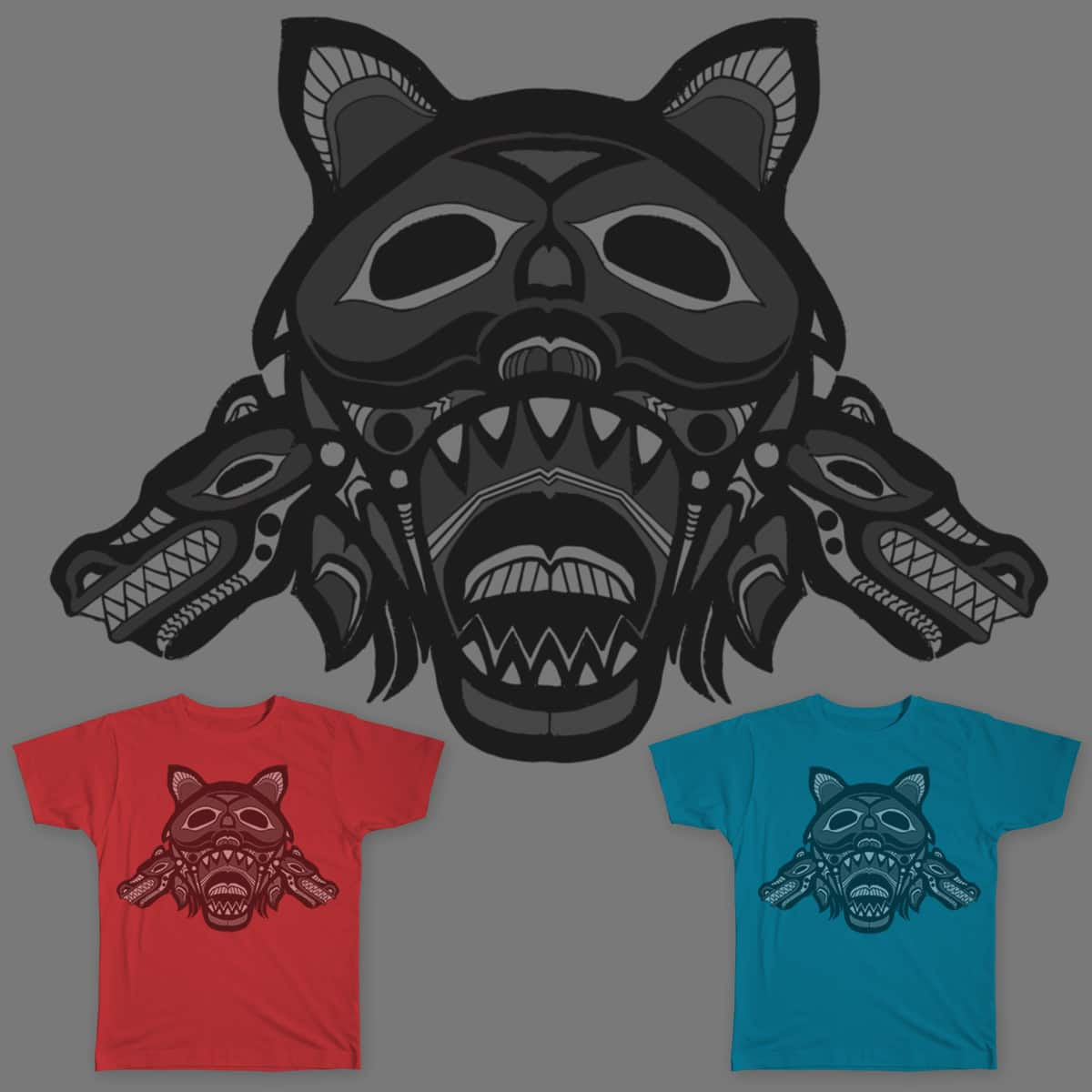 Wolf Pack by MikeRush on Threadless