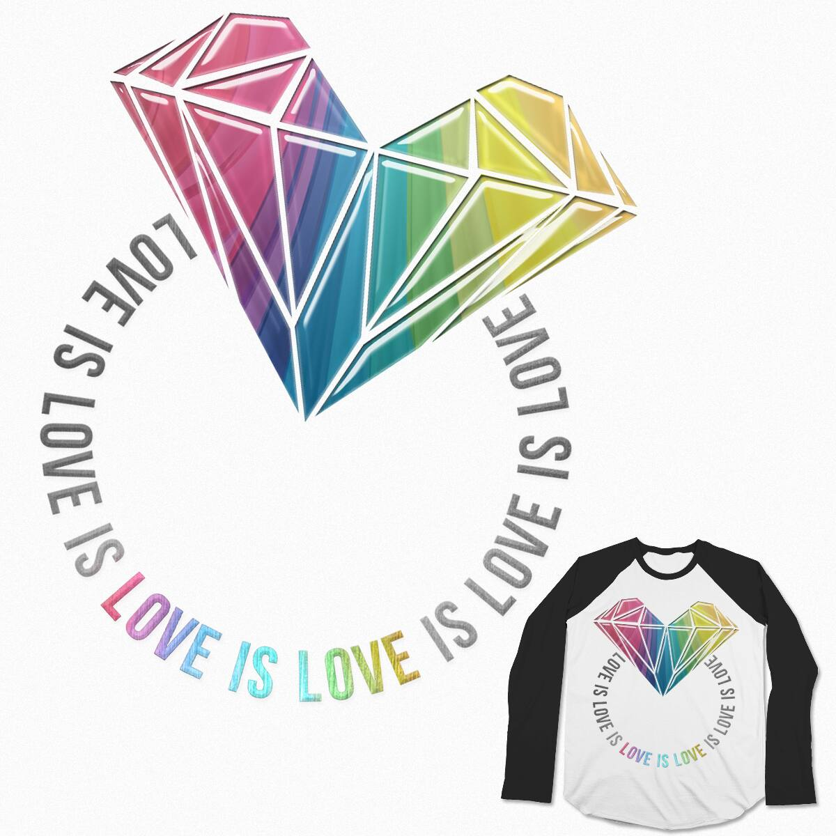 Let LGBTQIA Put A Ring On It! by SamanthaRybrn on Threadless