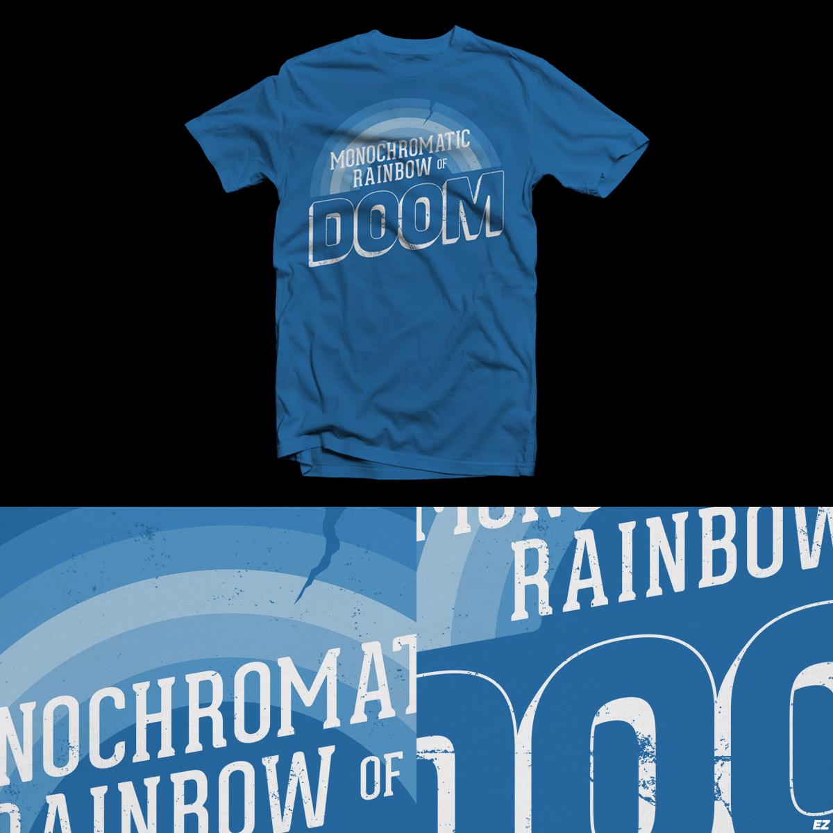 Rainbow of Doom by EZFL on Threadless