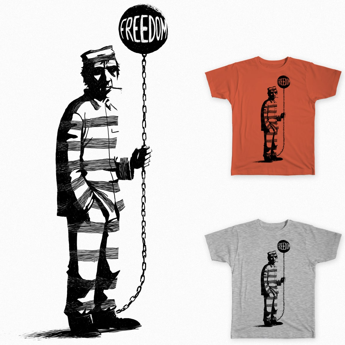Freedom by zakart on Threadless
