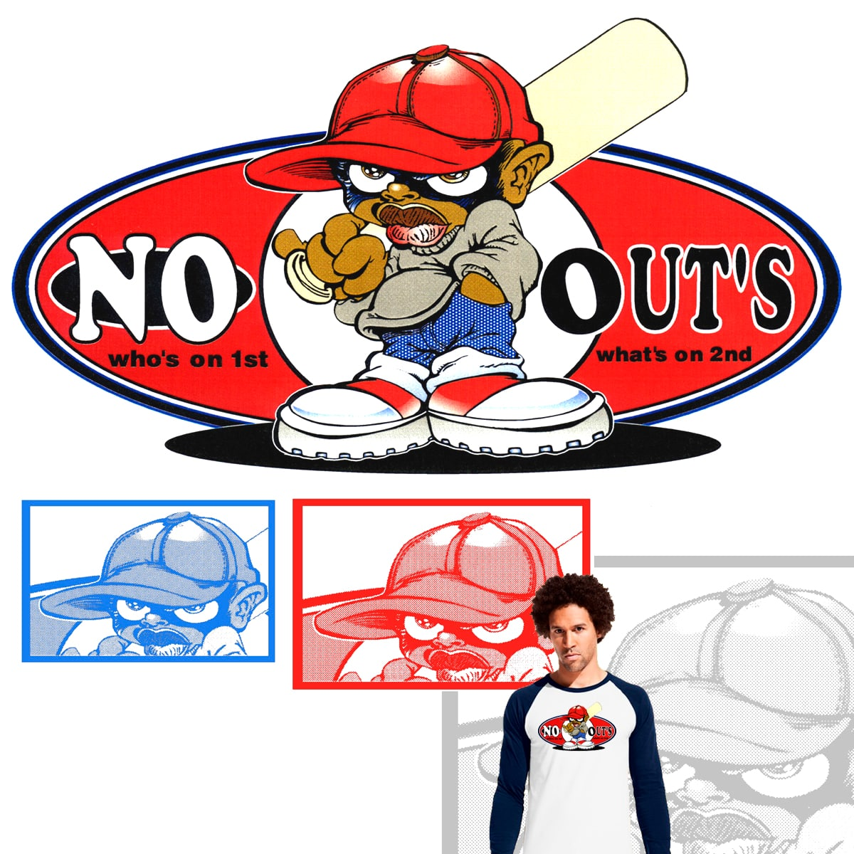 NO OUTS..!!! by JACKCRACK on Threadless