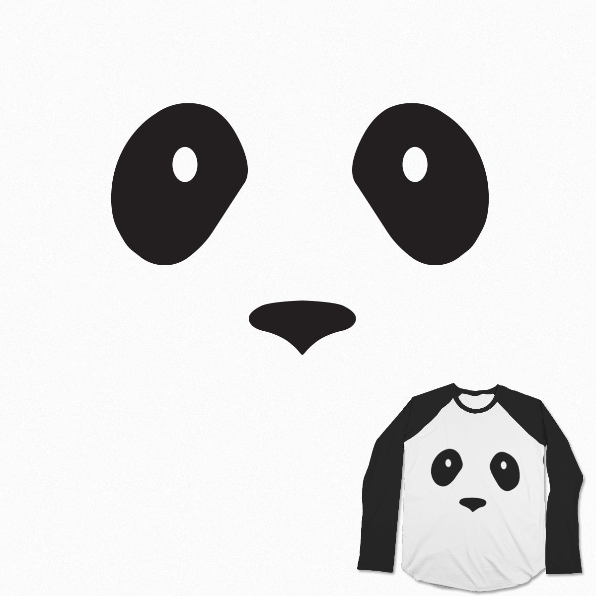 P... p... p... panda! by Szabotage on Threadless