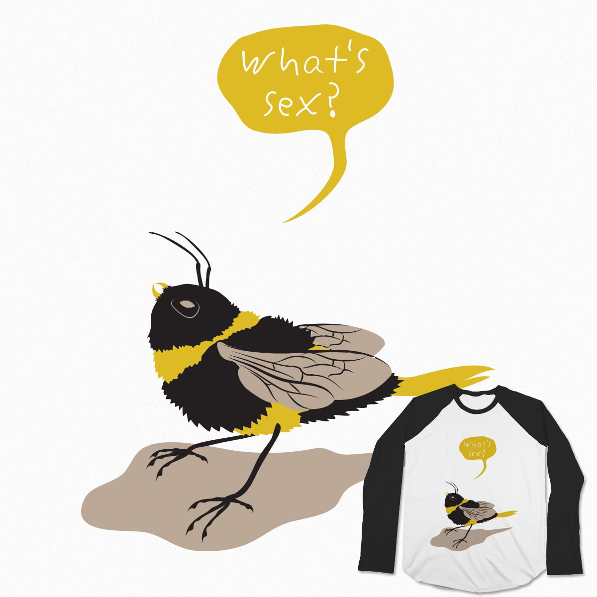 The Bird's & Bee's Offspring by Sakanahone on Threadless