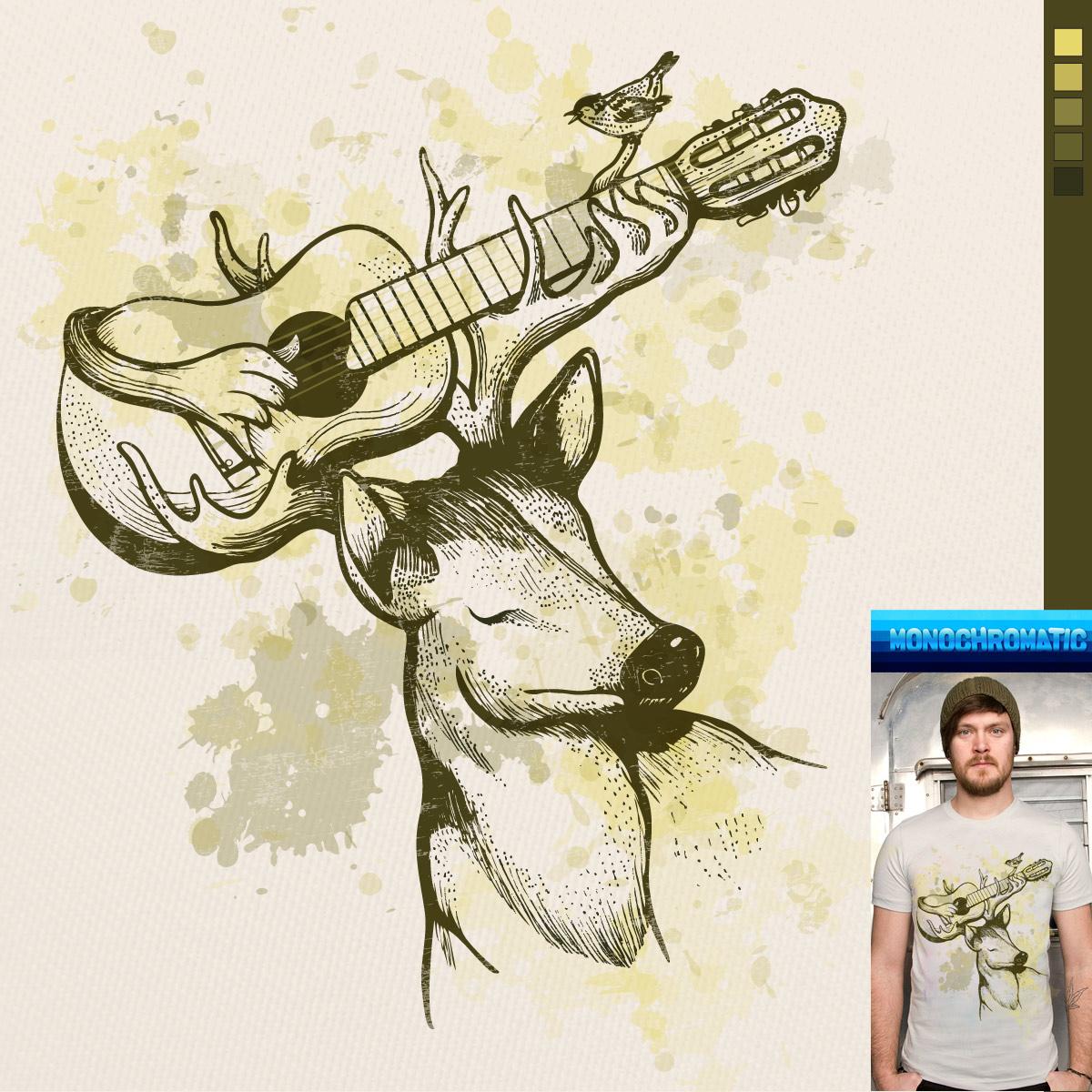 Deer Guitar by Jemae on Threadless