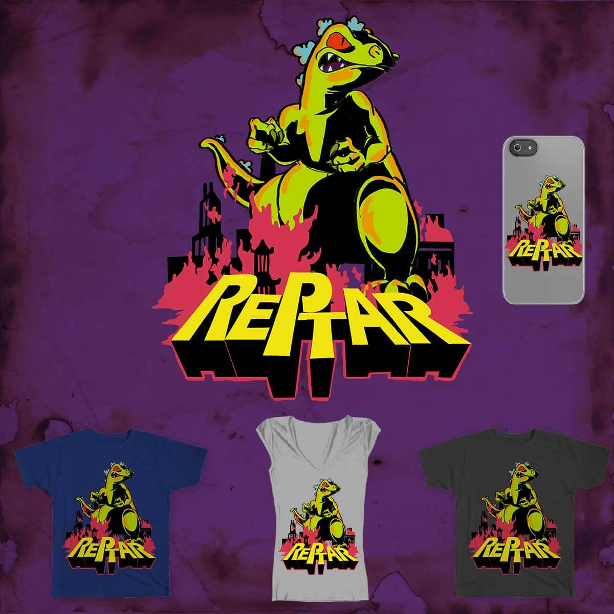 Reptar! by paoloman on Threadless