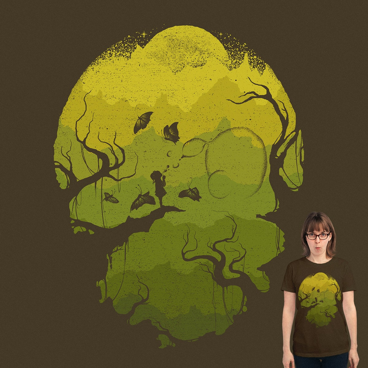 Seven Mountains by robsonborges on Threadless