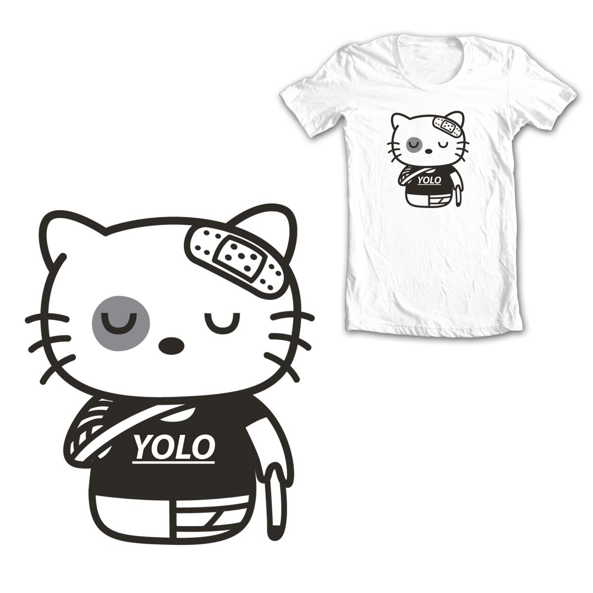 Yolo Kitty by krisren28 on Threadless