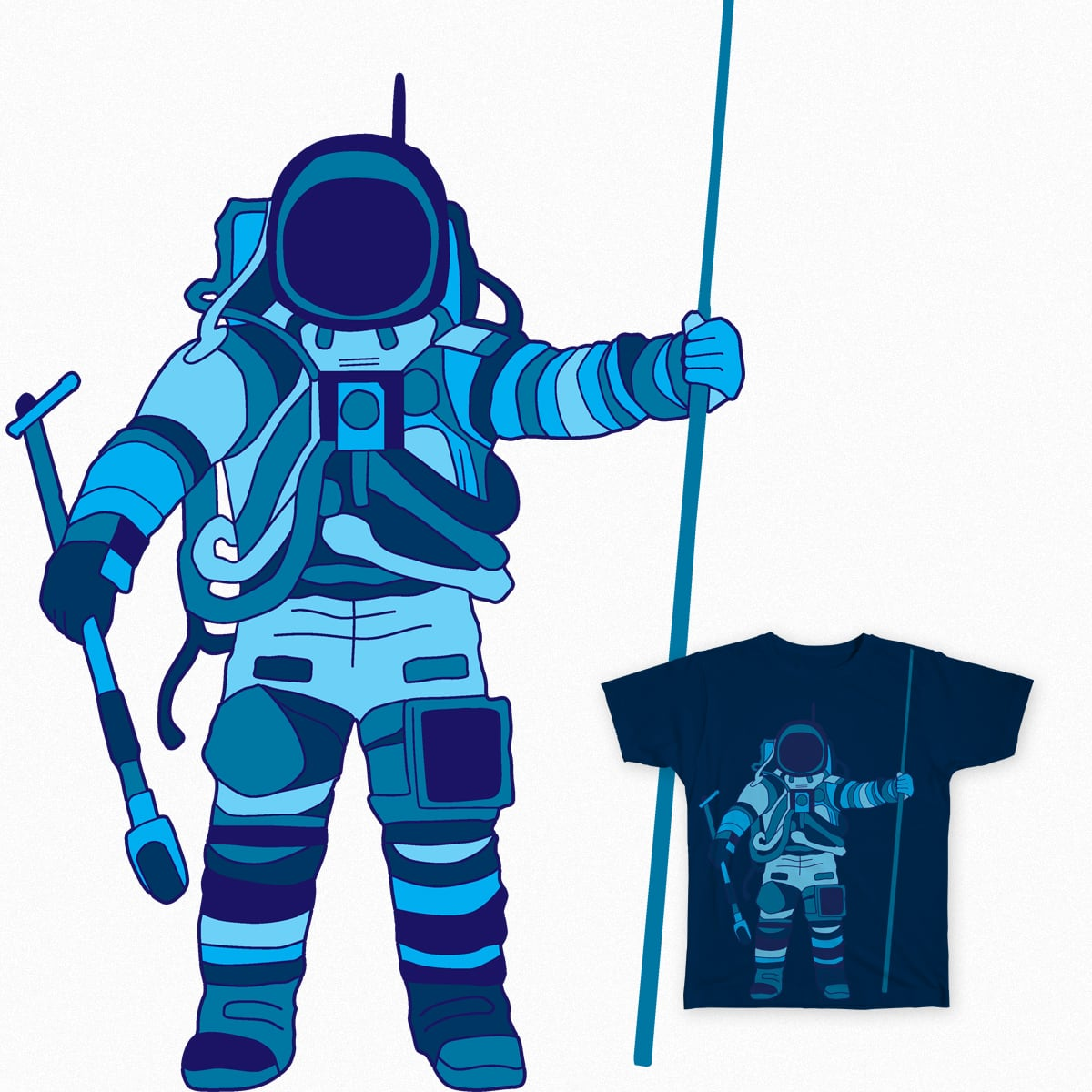 Astronaut by bulo on Threadless