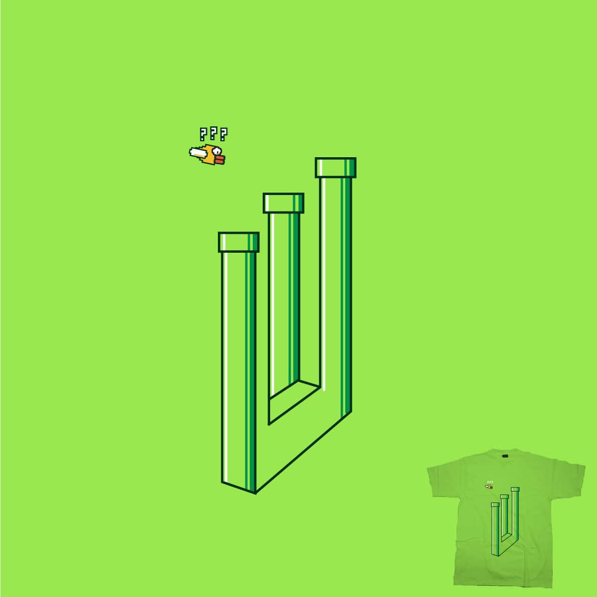 Impossible Game by secretly robots on Threadless