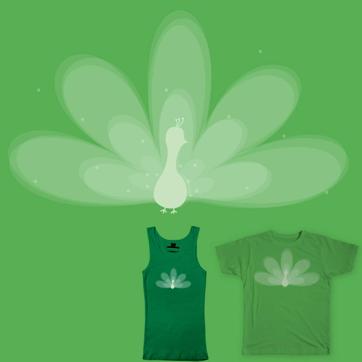 beautiful even in monochromatic by marielosq on Threadless