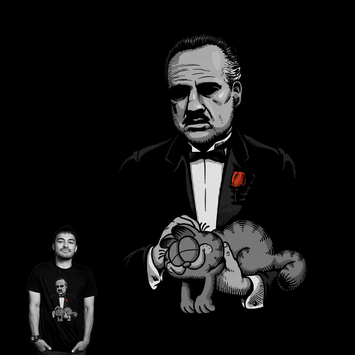Godfather's Cat by ben chen on Threadless