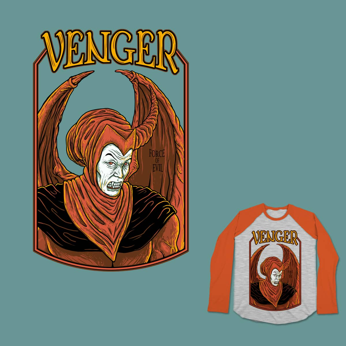 Venger, Force of Evil by theledexter on Threadless