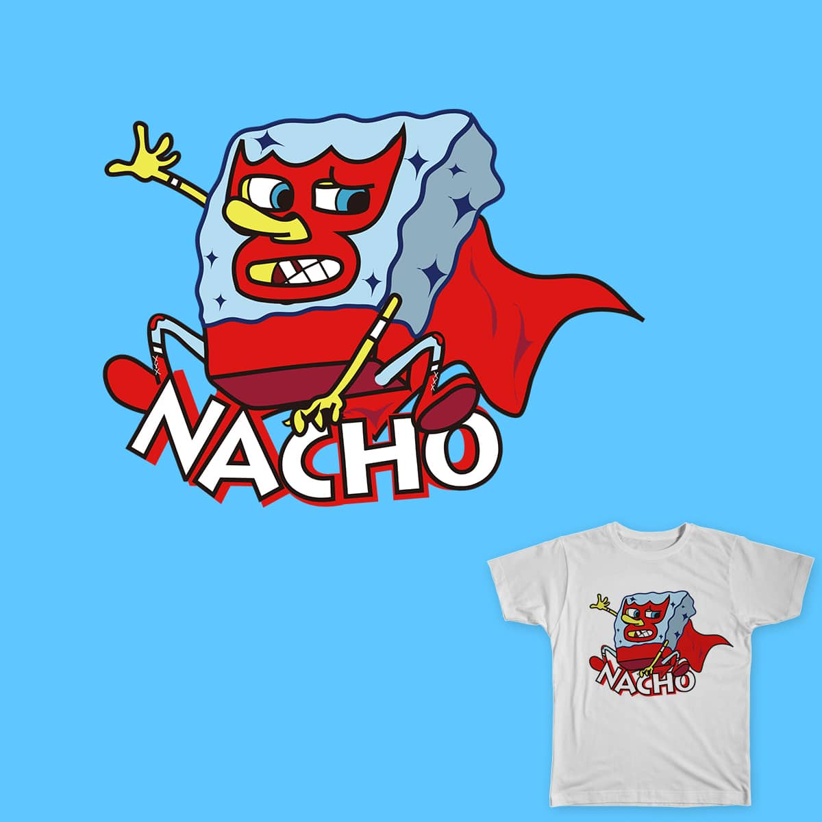 NachoBob by antony.wang on Threadless