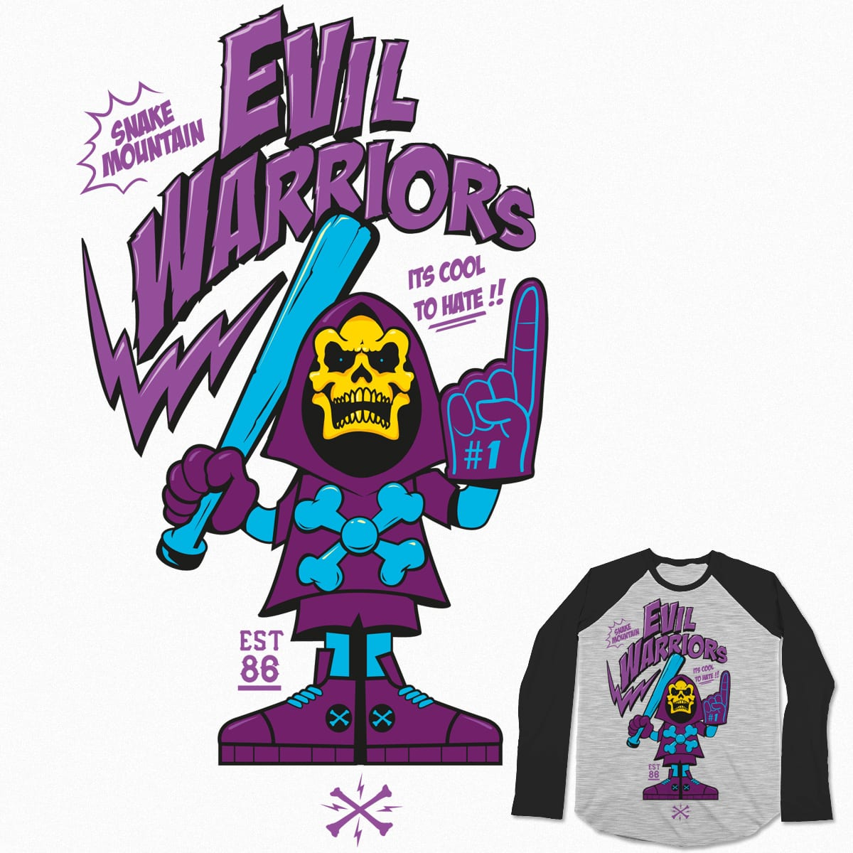 Evil Warriors  by dutchthedude on Threadless