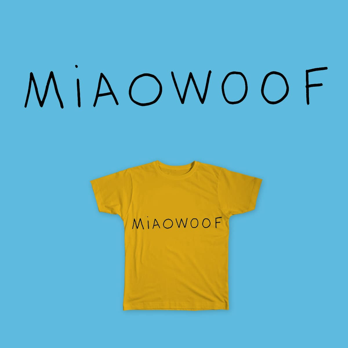 MIAOWOOF by Tom_Lowery on Threadless