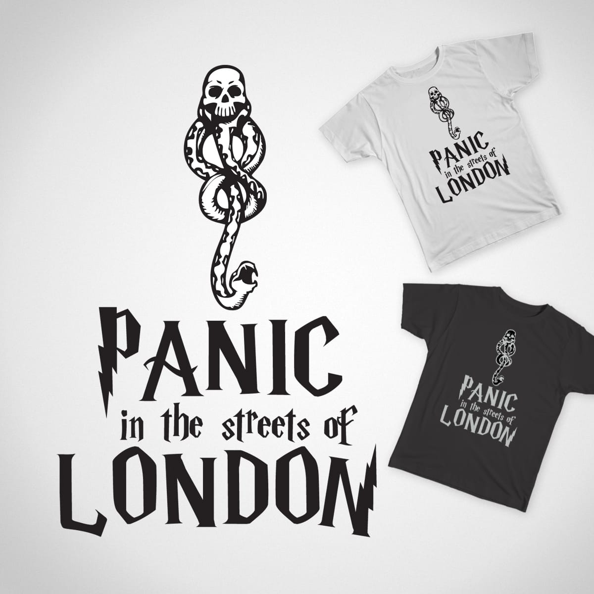 Panic in the streets by boset795b10ed00bd4d77 on Threadless