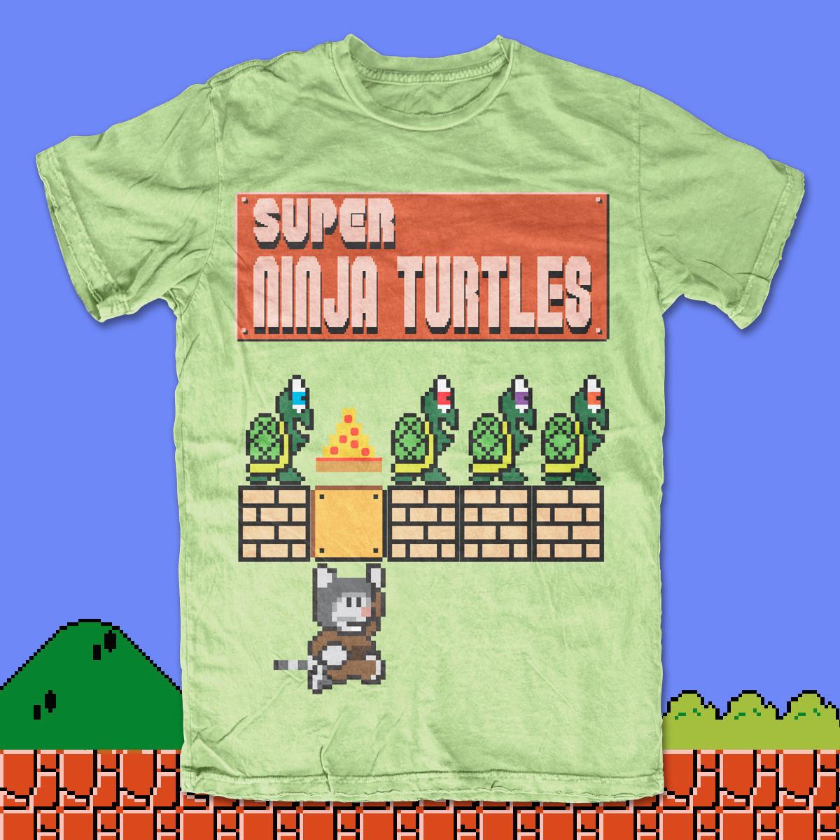 Super Ninja Turtle by mikmik2k4 on Threadless